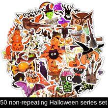 Стикер s Тыква стикер для автомобиля Хэллоуин забавная крутая