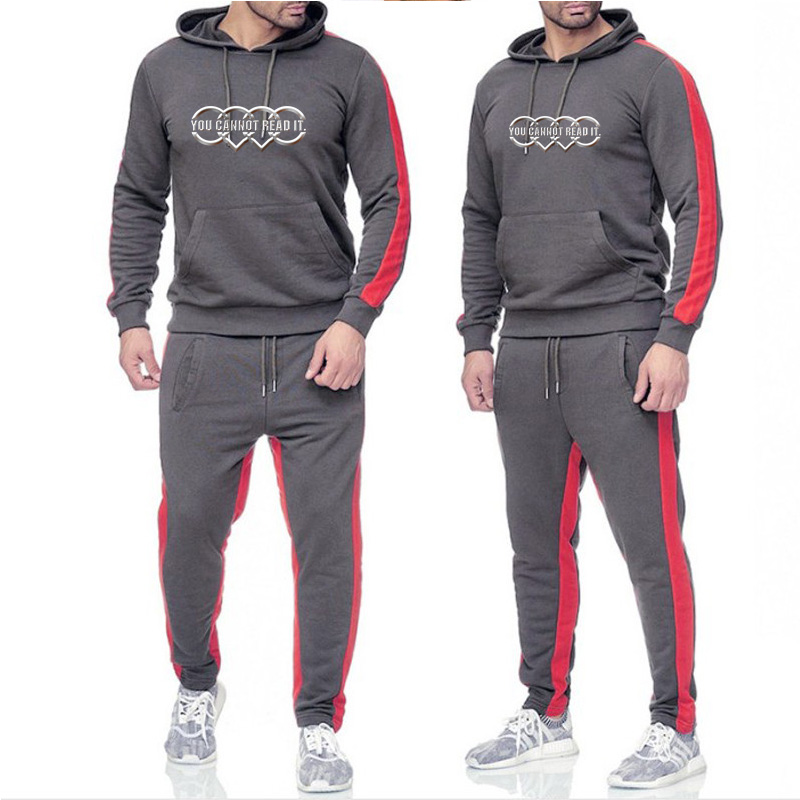 2020 Hot Brand Clothing Men's Fashion Tracksuit Men's Casual Sports Suit Hoodies Sportswear  Hoodies And Pants Set For Men