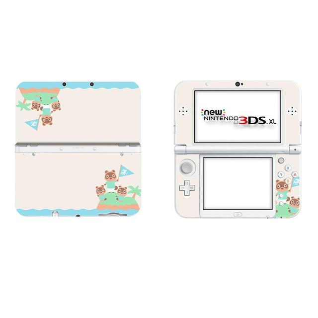 Peau de décalcomanie de couverture complète de croisement danimaux pour la nouvelle autocollant 3DS XL pour la nouvelle autocollants de peaux de protecteur de vinyle de 3DS LL