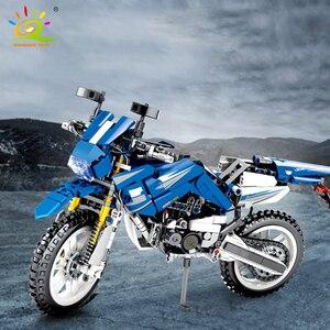 Image 3 - 799 шт., Детский конструктор «мотоцикл»