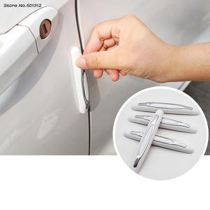 Stainless Steel For Renault CLIO IV clio 4 2014-2020 Car Pedal Kick Plates Threshold Bar Non-slip Anti-scratch Protection Strip Decorative Accessories N//A 4Pcs Outer Door Sills