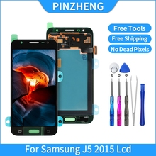 "PINZHENG Original 5.0"" LCD For Samsung Galaxy J5 2015 J500 J500F J500G J500M LCD Dispaly Touch Digitizer Assembly Free Shipping"