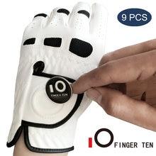 Прочные мужские перчатки для гольфа в любую погоду с шариковым
