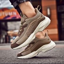 2020 Summer Air Mesh Cushion Shoe Sneakers Boy Running Shoes Men Breathable Damping Male Increase Non-slip Casual Walking 38-46
