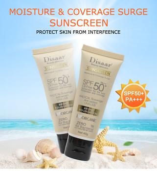 Disaar krem z filtrem przeciwsłonecznym zapobieganie opalaniu wybielanie krem przeciwsłoneczny krem przeciwsłoneczny mężczyzna kobiety ochrona koloru skóry kontrola oleju SPF 50 pielęgnacja skóry tanie i dobre opinie CN (pochodzenie) Jedna jednostka G20190758 sunscreen DS313-1 BODY CHINA GZTZ Protect skin color UV protection Waterproof Sweatproof Hydrating Sunscreen Cream