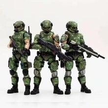 JOYTOY 1/18 actiefiguren Russische leger camouflage uniform militaire soldaat figuur model speelgoed collectie speelgoed