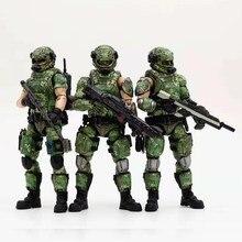 Joytoy bonecos de ação, brinquedos de coleção, uniforme de camuflagem do exército russo, soldado militar, 1/18