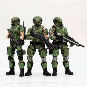 Image 1 - JOYTOY 1/18 action figures Russian army camouflage uniform military soldier figure model toys collection toy