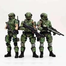 JOYTOY 1/18 figurki rosyjska armia mundur w kolorystyce kamuflażowej żołnierz wojskowy model figurki kolekcja zabawek zabawka