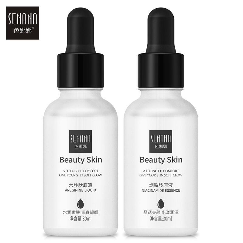 Argireline Face Serum Nicotinamide Extract Facial Essence Liquid Moisturizing Refresh Skin Care Shrink Pores