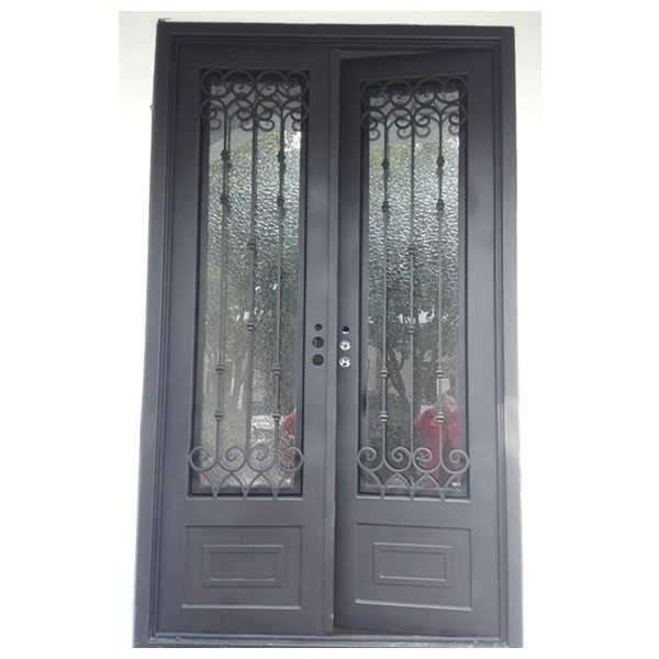 Shanghai Hench Brand China Factory 100% Custom Made Sale Australia Single Wrought Iron Doors