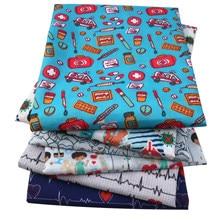 Tissu en Polyester et coton pour infirmières, textile pour enfants, pour la maison, pour la couture de poupées Tilda, c10730