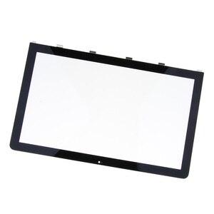 Image 1 - 21.5in LCD cam Panel ön ekran koruyucu onarım için iMac 2011 A1311 ekran cam lens kapağı paneli dış ekran çerçeve cam