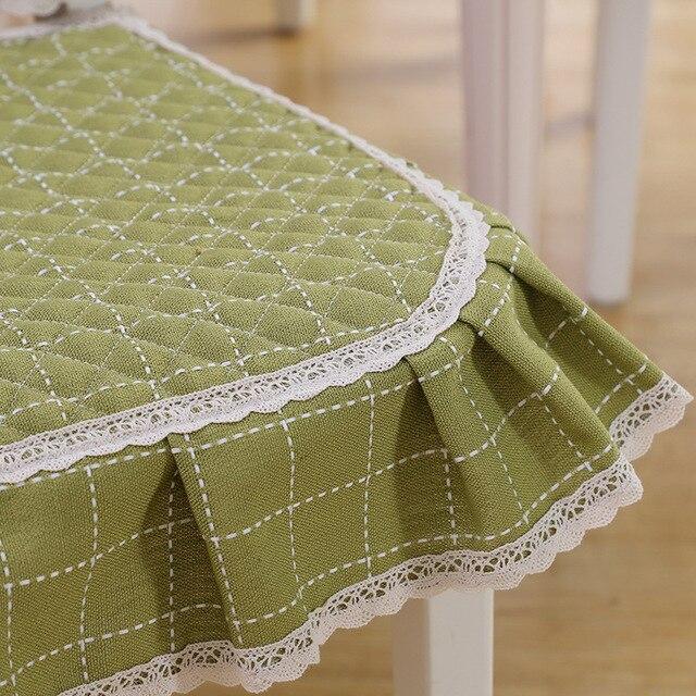 скатерть прямоугольная из хлопчатобумажной ткани элегантная фотография