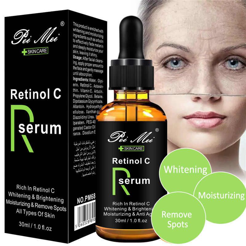 30 Ml Gezicht Facial Serum Vitamine C Retinol Serum Verstevigende Reparatie Huid Anti Rimpel Anti Acne Anti Aging Serum Lifting huidverzorging