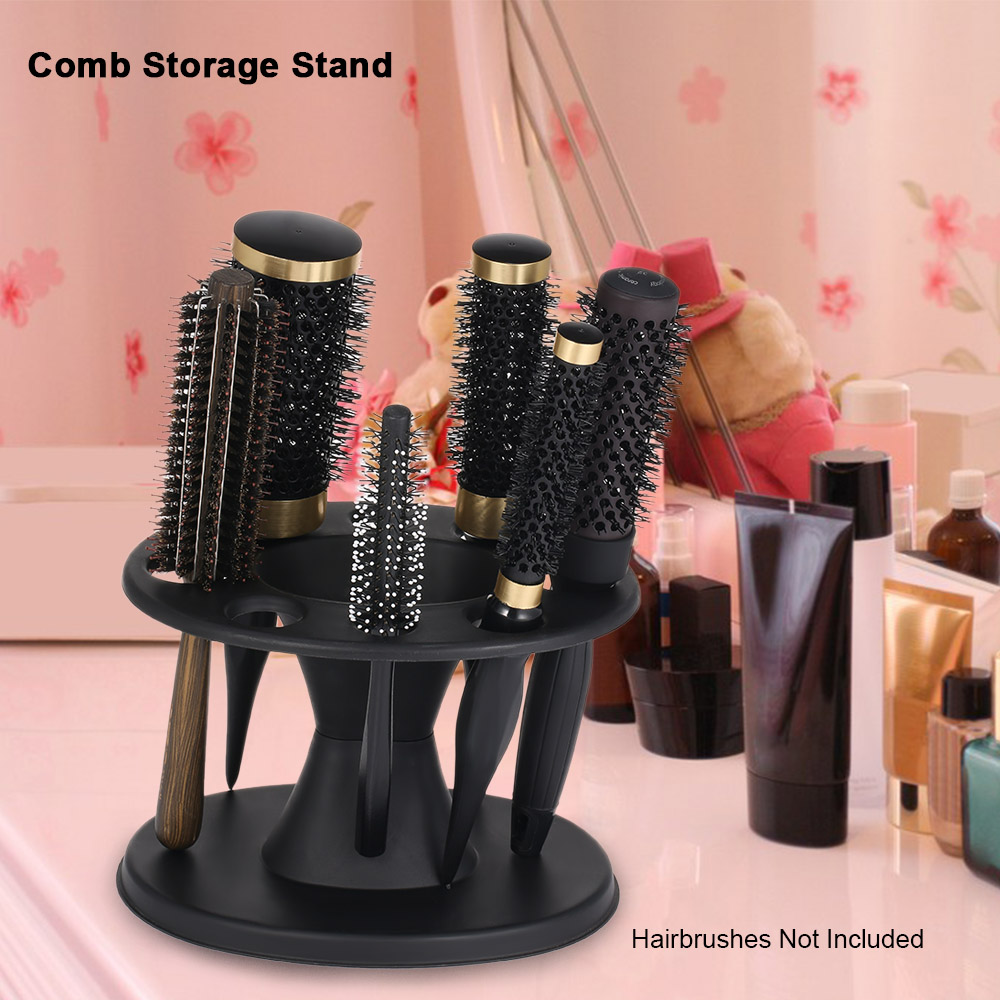 1Pc Combs Organizer For Salon Comb Storage Stand Hairdressing Combs Organizer Rack Hairdressing Styling Tool Holder