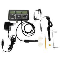 6in1 qualidade da água tester monitor de temperatura da água do aquário ph ce cf tds medidor