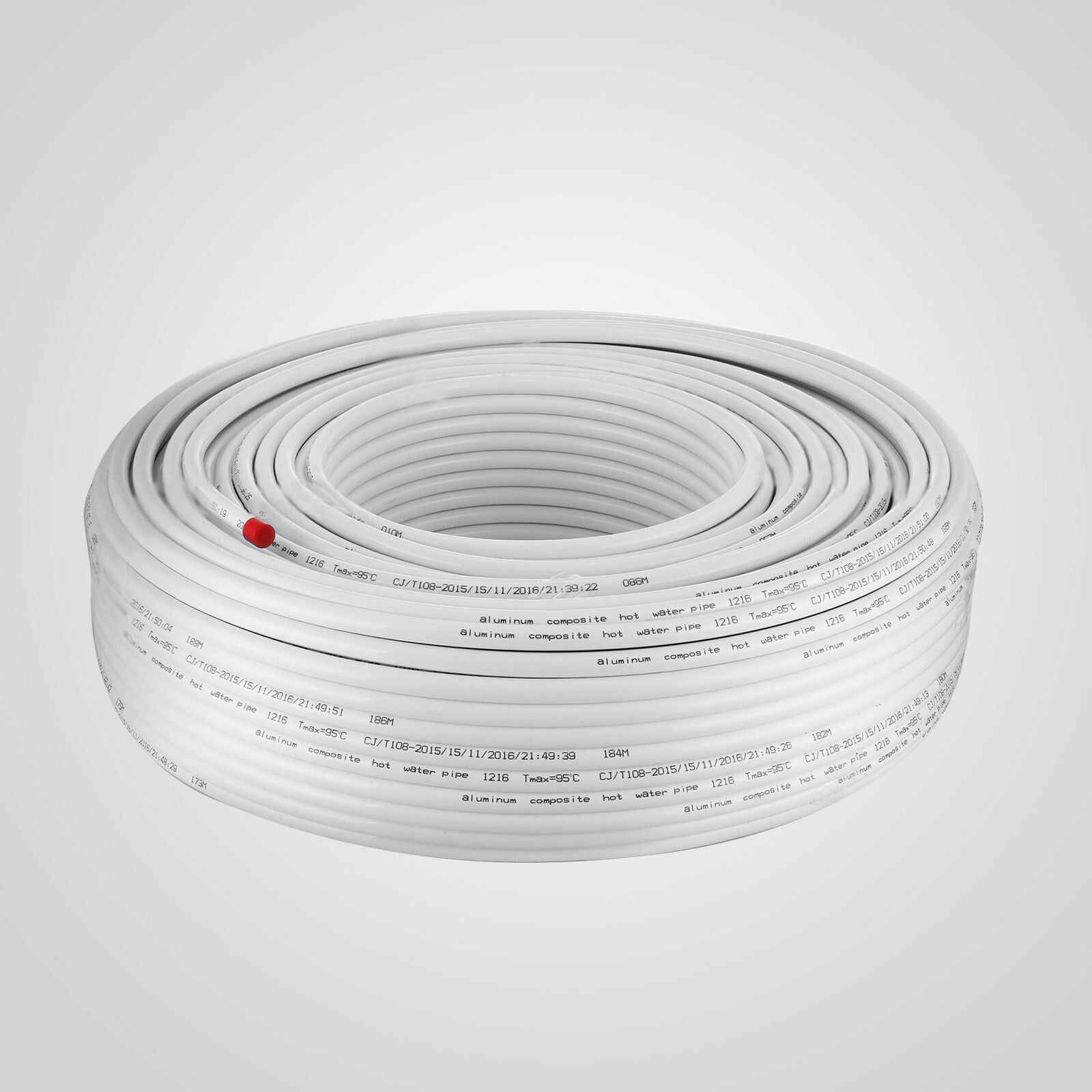 1 2 Pex Tubing Pex Al Pex Radiant Heat Polyethylene Aluminum Layer 200m Top Roll Roll Roll Aliexpress