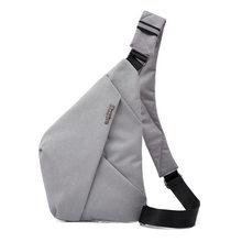 Saco de viagem fino burglarproof ombro saco diário carry pacote coldre anti roubo cinta segurança digital storagesbags
