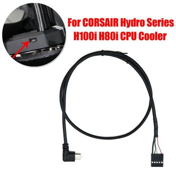 USB Interface CPU Cooler Cable For CORSAIR Hydro Series H80i/H100i/H110i/H115i image