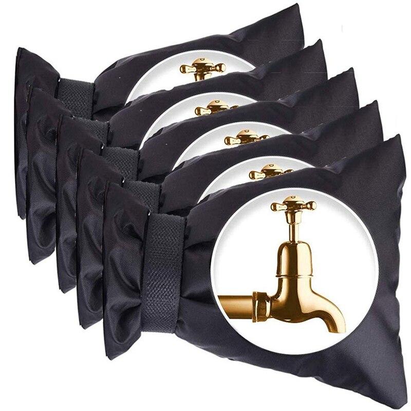 Outdoor Faucet Cover For Winter Antifreeze, Sock Cover For Outdoor Garden Faucet, 5 Packs Of Reusable Waterproof Outdoor Moistur