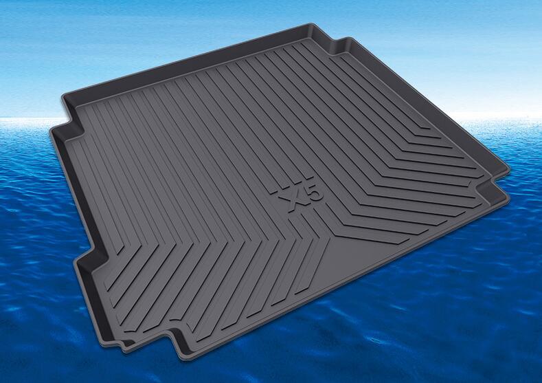 For BMW X6 G06 F16 F86 E71 X5 E70 F15 F85 G05 X4 F26 X3 F25 G01 X1 F20 Rear Trunk Cargo Mat Floor Protector Foot Pad Mats