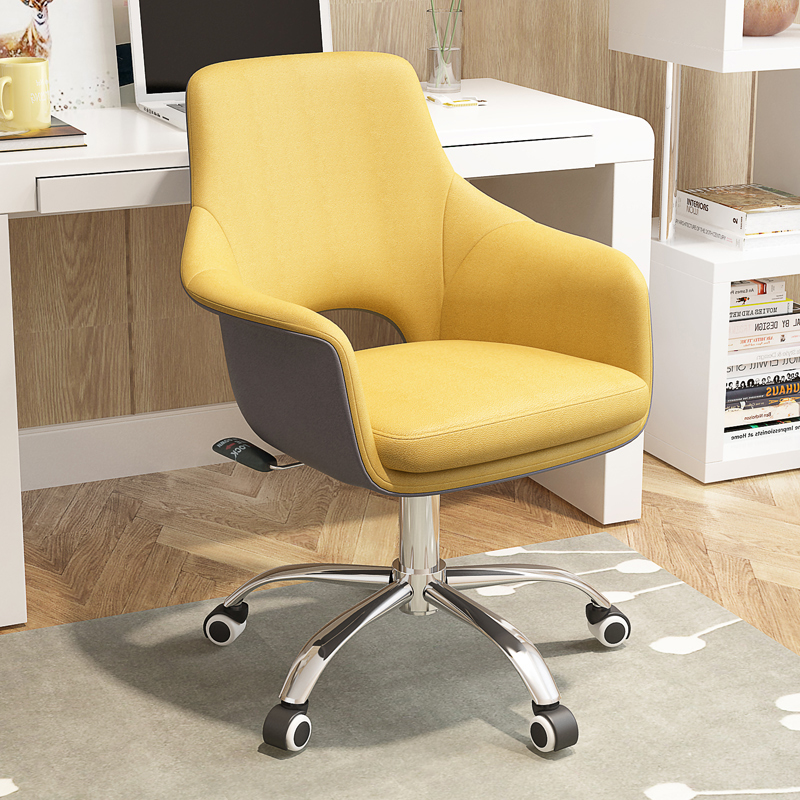 Elegant Computer Chair Home Breathable Stool Sedentary Not Tired Seat Lift Swivel Chair Furniture Supplies Office Chairs