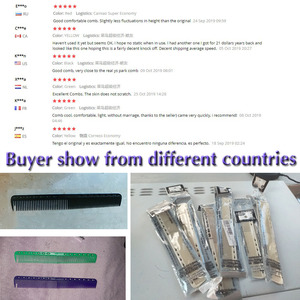 Image 5 - 6 Colors Professional Hair Combs Barber Hairdressing Hair Cutting Brush Anti static Tangle Pro Salon Hair Care Styling Tool