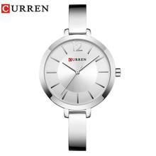 цена на CURREN Fashion Women Dress Wristwatch Ladies Quartz Watch Brand Luxury Women Bracelet Watches Full Steel Female Clock