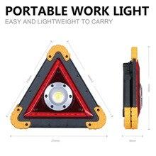 Водонепроницаемый предупреждление о безопасности дорожного движения свет COB светодиодный светильник штатив USB зарядка портативная Предупреждение лампа 30 Вт безопасность дорожного движения продукты