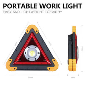 Tripod Warning-Light Safety-Products Traffic Waterproof Led-Lamp Usb-Charge Portable