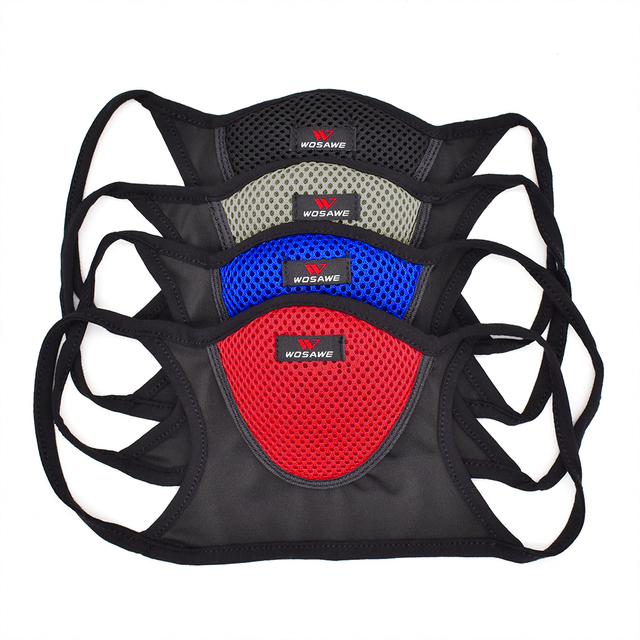 Breathable Sports Dustproof Mouth Full Mesh Filter Dust Face Mask 4