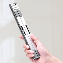 X Стиль Регулируемая Складная Алюминиевая Подставка для ноутбука