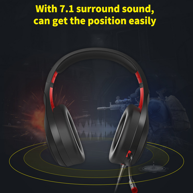 SOMIC Stereo Wired Gaming Headphones over Ear with Mic Voice Control for Laptop Computer Gamer Bass Effect(3.5+USB)|Bluetooth Earphones & Headphones| - AliExpress