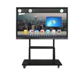65 75 86 100 inch Educatieve apparatuur vergadering en onderwijs boord Multi Touch Screen Display Interactieve whiteboard