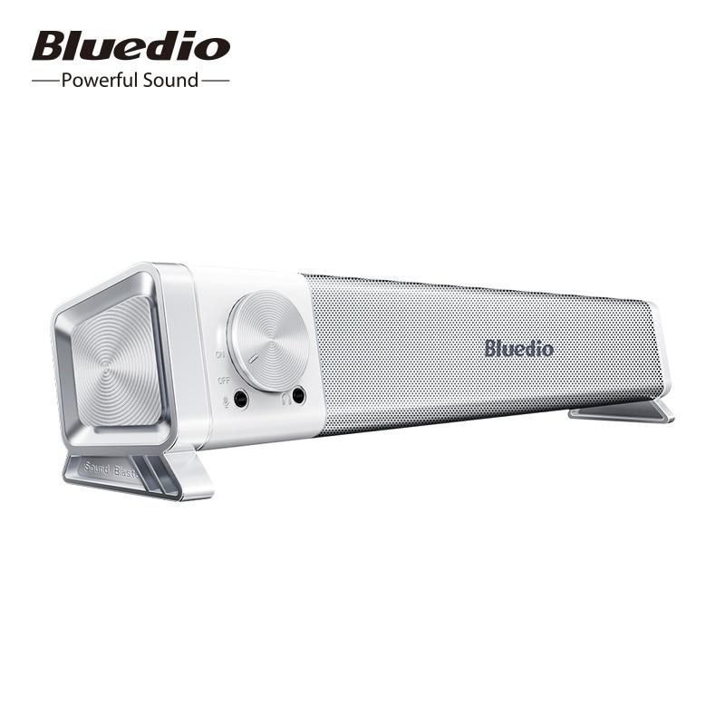 Bluedio LS soundbar wired speaker computer speaker USB power column with microphone for PC, game, portable bluetooth soundbox