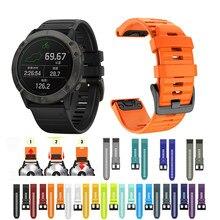 Pulseira para garmin fenix 5 plus 6 pro pulseira forerunner 935 945 pulseira esportiva para garmin marq instinct ajuste rápido banda