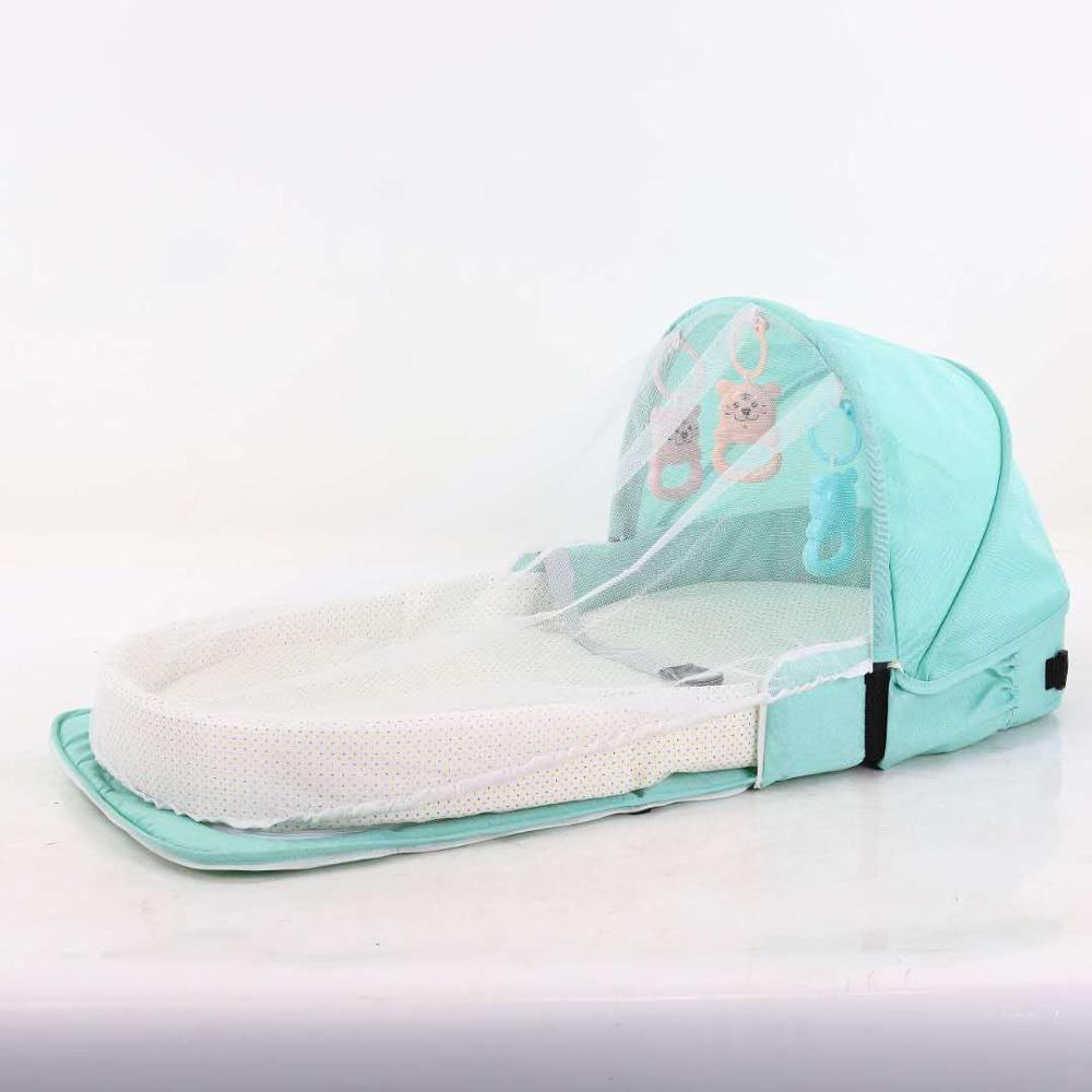 Baby Bed Travel Sun Protection Mosquito Net With Portable Bassinet Baby Foldable Breathable Infant Sleeping Basket