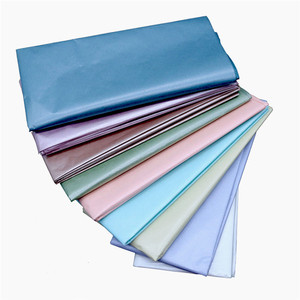 50*66cm Metallic Color and Pearl Color 10 Sheets Tissue Paper DIY Handmade Craft Paper Flowers Gift Packing Wedding Supplies