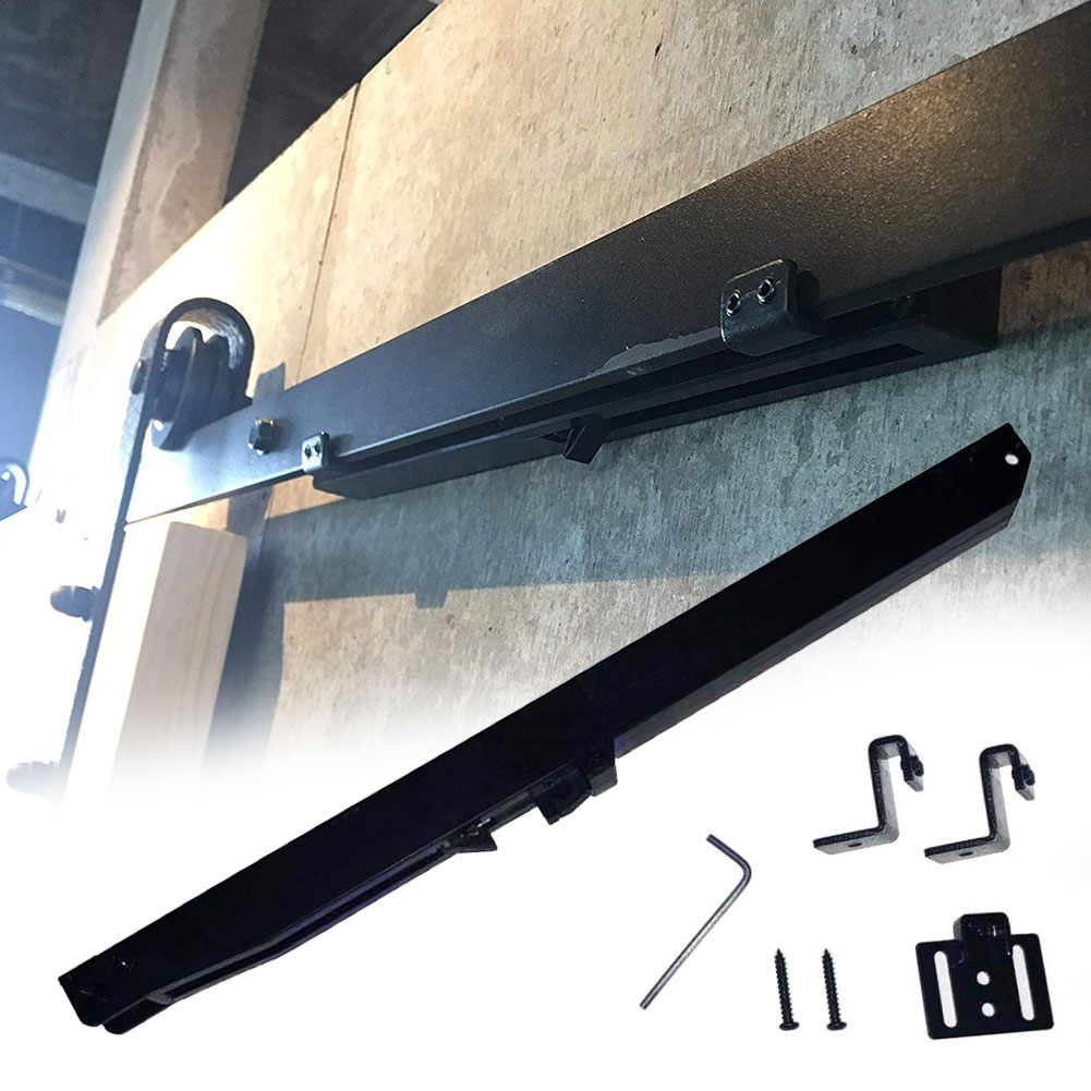 Sliding Rail Furniture Door Damper Noise Reduction Universal Home Hardware Anti Crash With Screw Soft Close Durable Oil Free