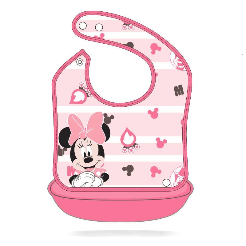 Disney Minnie Babadores Burp Pano Destacavel Dos Desenhos Animados