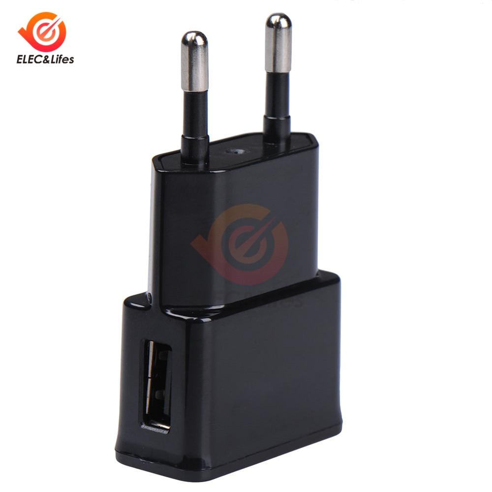 5V 2A EU US штепсельный адаптер USB настенное зарядное устройство для samsung iphone ipad Xiaomi зарядное устройство для мобильного телефона универсальное з...