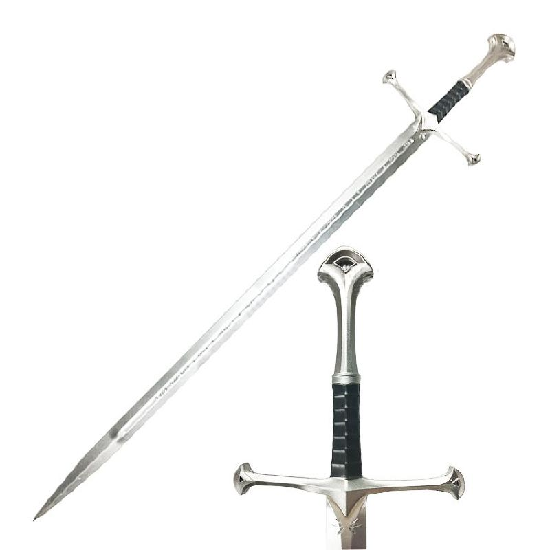 Knight Sword The Same Nasir Sword In The Movie Devil Sword Aragon Sword Cos Props Pu Sword Gifts For Childrens