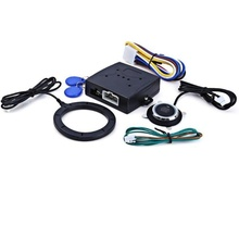 Автомобильная сигнализация, двигатель, кнопка пуска, кнопка остановки, RFID замок, переключатель зажигания, бесключевая система входа, стартер, противоугонная система 5
