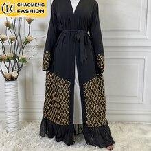 Abaya Dress Turkey Kaftan Dubai Caftan-Middle-East Malaysia Muslim Fashion Hijab Islamic Clothing