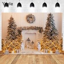 Yeele חג המולד רקע חדר אוהל אור יילוד תינוק דיוקן ויניל צילום רקע תמונה סטודיו Photophone לירות