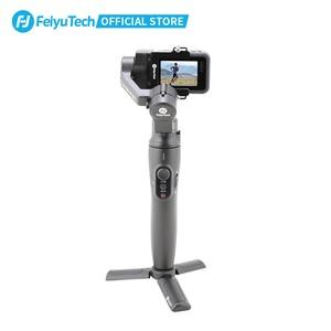 Image 2 - FeiyuTech Vimble 2A Action Camera stabilizator ręczny z 180mm tyczka przedłużająca do Gopro Hero 8 7 6 5 Gimbal