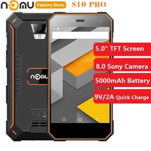 NOMU S10 PRO 4G четырехъядерный мобильный телефон 5,0 дюймов Android 7,0 MTK6737VWT 1,5 ГГц 3 ГБ + 32 ГБ 8,0 МП задняя камера 5000 мАч мобильный телефон