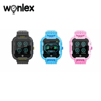 Wonlex KT12 Smart-Watches 4G Video Kids GPS SOS Remote-Camera Phone-Watch Location Sim-Card Android-System Wifi Clock for Gift