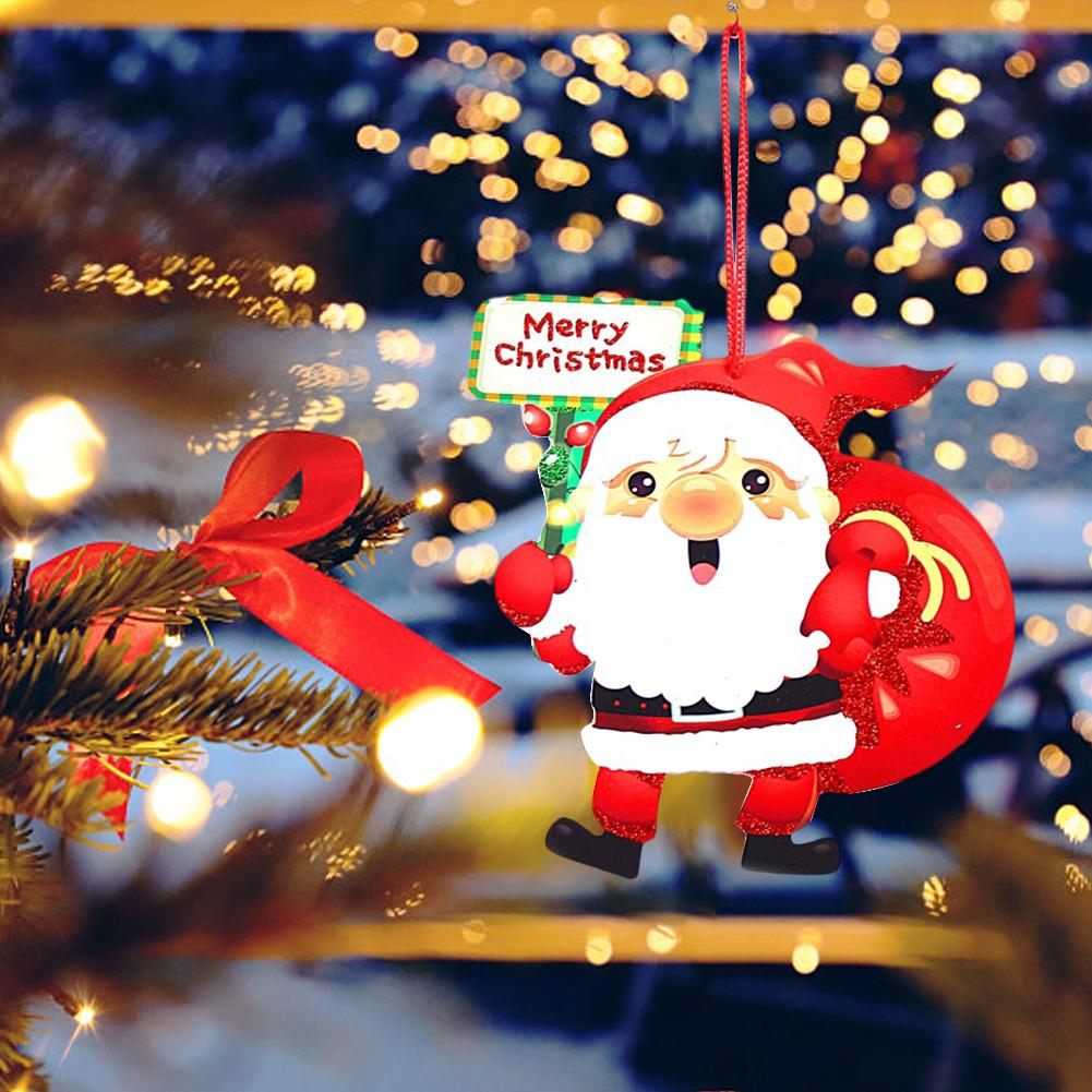 2020 Christmas Decoration Bubble Snowman Bell Santa Merry Christmas Label Provides Door And Window Wall Home Decorations Pendant Drop Ornaments Aliexpress